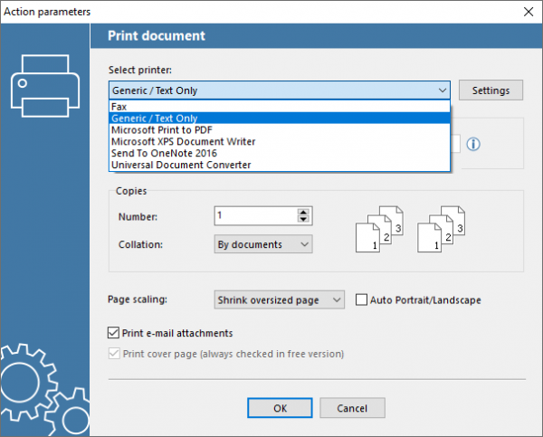 Auto print ZPL using Generic / Text Only driver in Windows