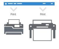 Auto print drawings