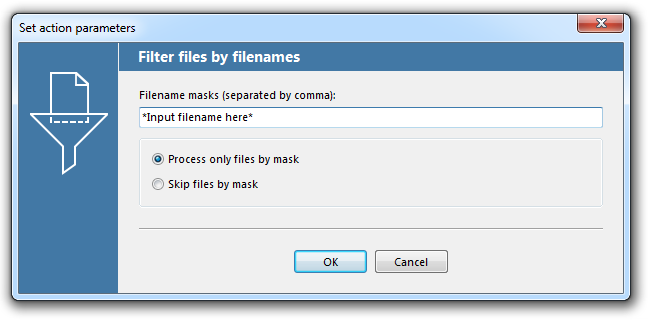 Filter by filename