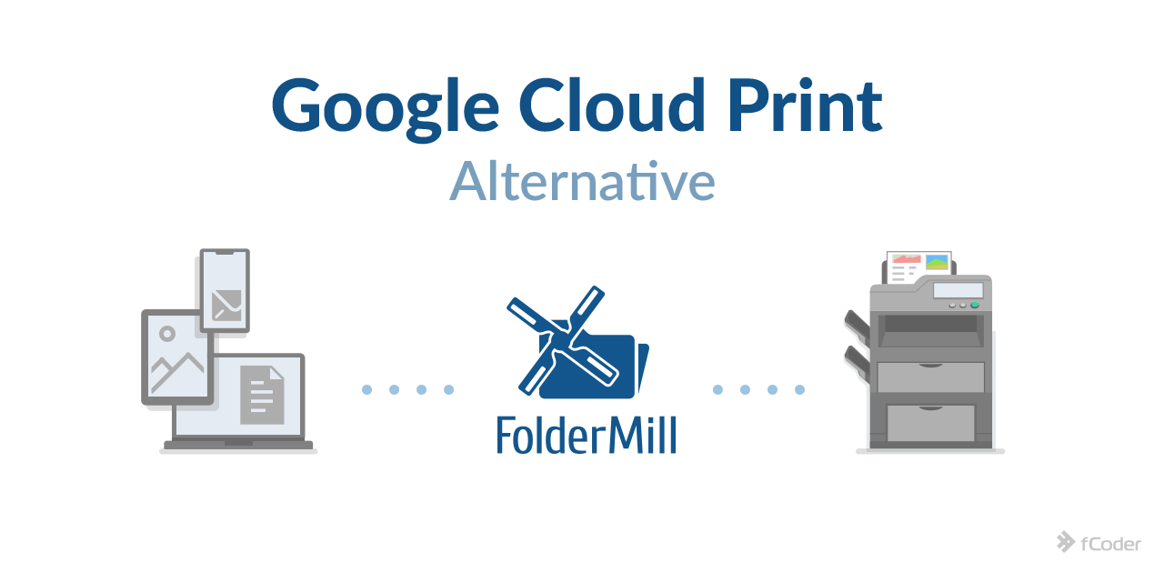 FolderMill as Google Cloud Print Alternative