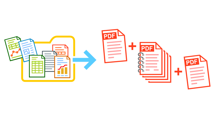 Insert pages before existing PDF or TIFF with FolderMill